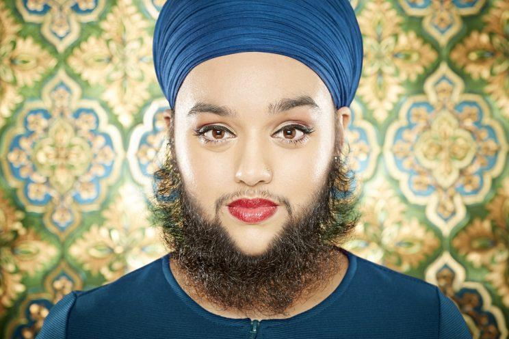 """Harnaam Kaur holds the record for Youngest Female With a Full Beard in """"Guinness World Records 2017."""" (Photo: Guinness World Records)"""