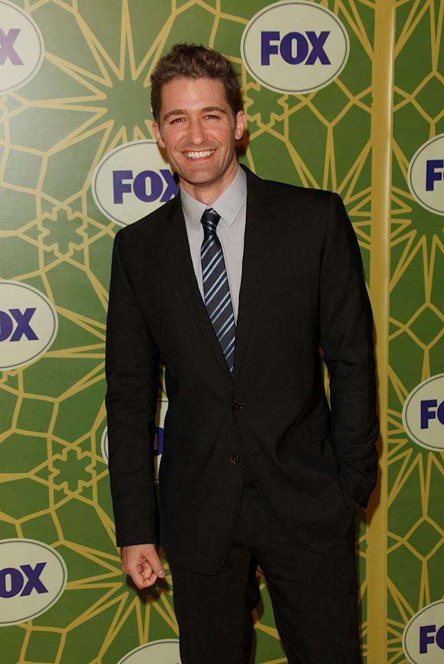 """<a href=""""/matthew-morrison/contributor/1142846"""">Matthew Morrison</a> (""""<a href=""""/glee/show/44113"""">Glee</a>"""") attends the 2012 Fox Winter TCA All-Star Party at Castle Green on January 8, 2012 in Pasadena, California."""