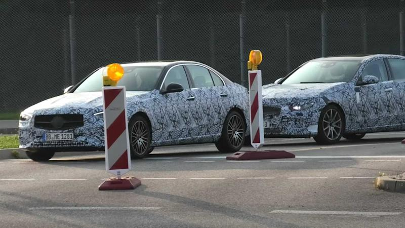 C-Class Sedan, Wagon Spied
