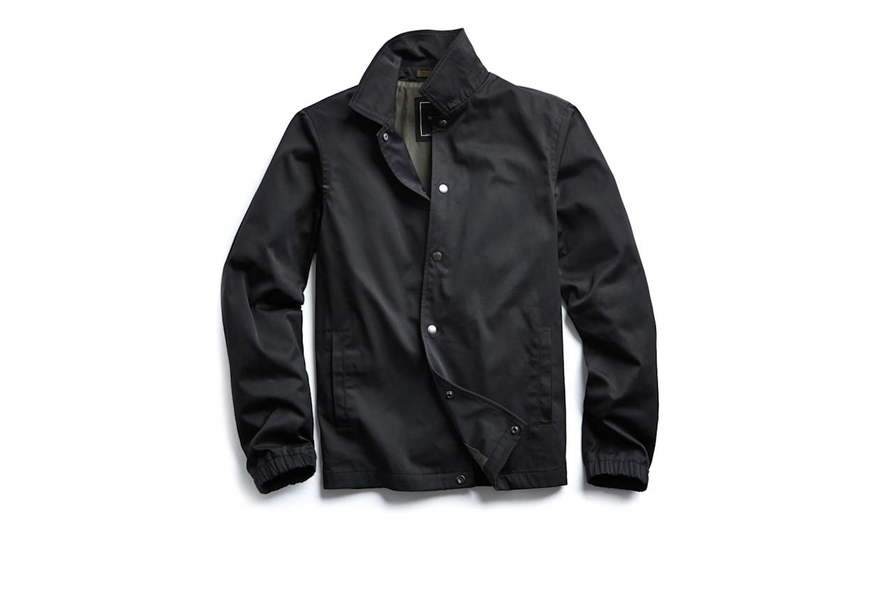 "$498, Todd Snyder. <a href=""https://www.toddsnyder.com/products/black-coaches-jacket-black?refSrc=1807836938311&nosto=productpage-nosto-1"">Get it now!</a>"