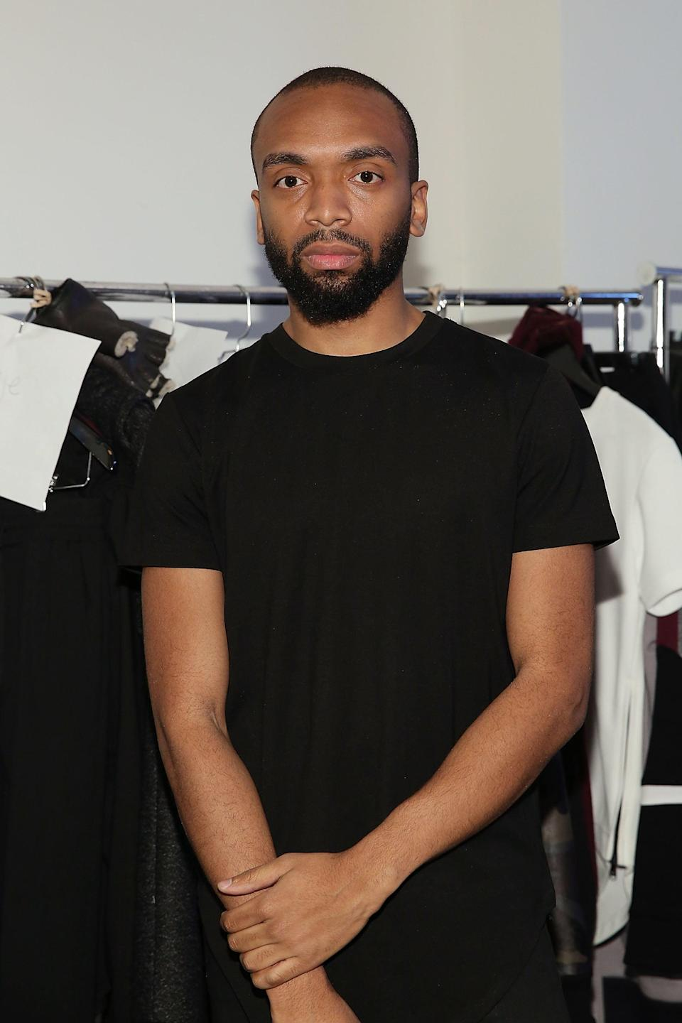 "<p>While Pyer Moss's Kerby Jean-Raymond is no stranger to success, the designer, whose <a href=""https://www.popsugar.com/fashion/photo-gallery/46601431/image/46684767/Pyer-Moss-SpringSummer-2020"" class=""link rapid-noclick-resp"" rel=""nofollow noopener"" target=""_blank"" data-ylk=""slk:collections often celebrate Black history"">collections often celebrate Black history</a>, continues to shine with his line and multiple collaborations with brands like Reebok. </p>"