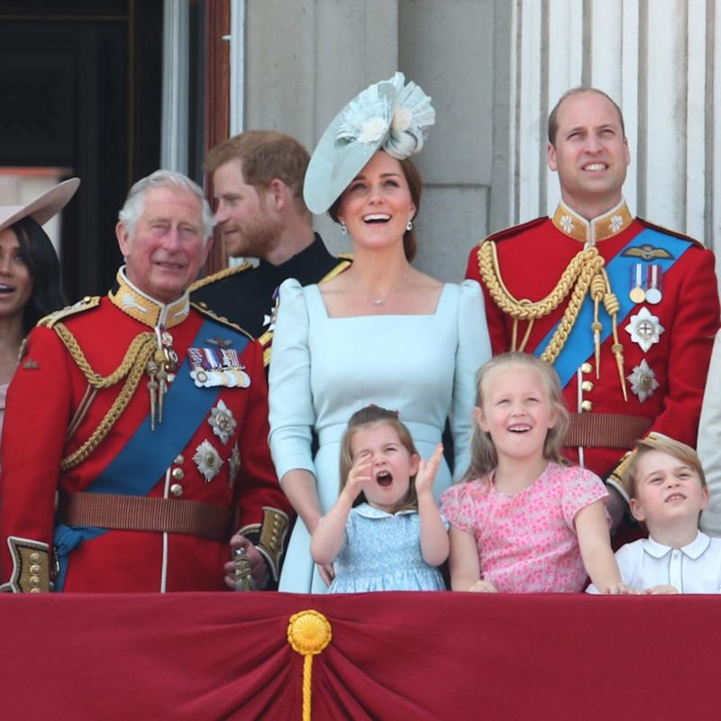 Prince George and Princess Charlotte Had the Best Time at Trooping the Colour
