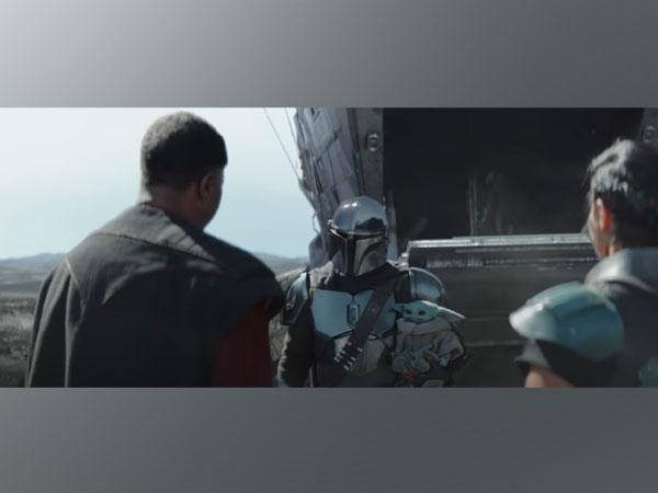 A scene from the 'Star Wars: The Mandalorian' special look. (Image courtesy: YouTube)