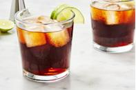"""<p>When in doubt, go Rum & Coke.</p><p>Get the recipe from <a href=""""https://www.delish.com/cooking/recipe-ideas/a28903015/rum-and-coke-recipe/"""" rel=""""nofollow noopener"""" target=""""_blank"""" data-ylk=""""slk:Delish"""" class=""""link rapid-noclick-resp"""">Delish</a>.</p>"""