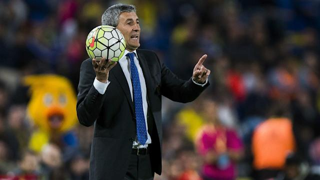 Josep Maria Bartomeu has lofty ambitions under new coach Quique Setien following his appointment at Barcelona.