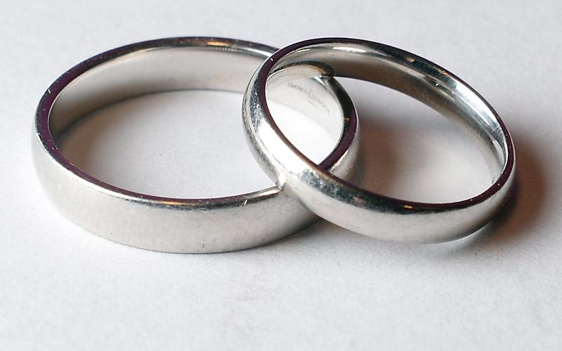 Marriage rates among the over-65s are increasing - Anthony Devlin/PA Wire