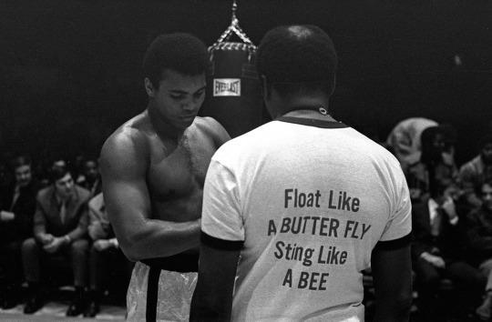 <p>NEW YORK – DECEMBER 07: Heavyweight boxer Muhammad Ali trains for his fight against Oscar Bonavena on December 7, 1970 in New York, U.S.A. (Photo by Anwar Hussein/Getty Images)</p>