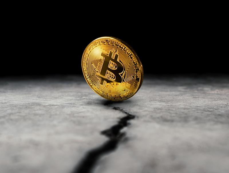 Bitcoin price makes a further retreat heading into June. | Source: Shutterstock