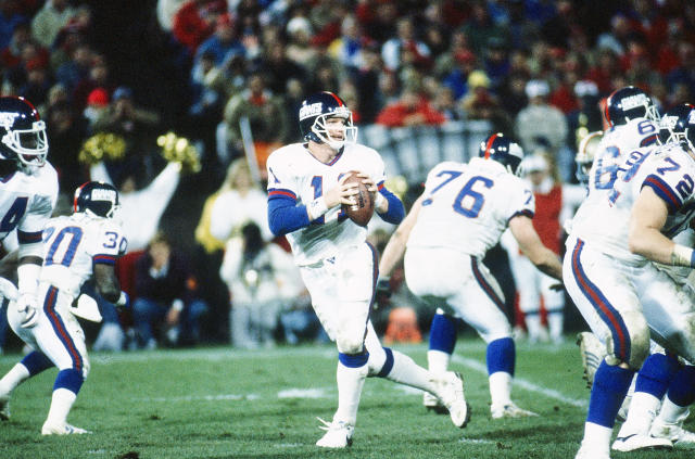 Just fantastic. Phil Simms was crushing the look on this dropback. (Photo by Walt Disney Television via Getty Images)