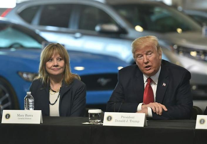 General Motors Chief Executive Mary Barra endorsed Joe Biden's plan for electric car autos and exited litigation favored by Donald Trump's administration challenging California's strict environmental rules
