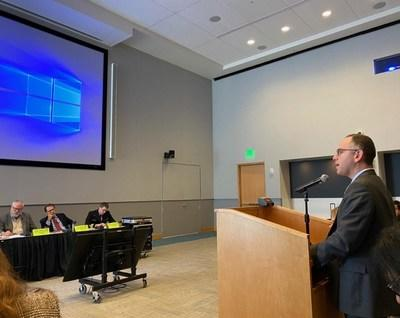 Paul Feuerstadt, MD (New Haven, CT) warns FDA of potential dangers in limiting patient access to FMT treatment; mentions incident of an individual who attempted to perform FMT on themself and how dangerous that could be -- Nov 4, 2019, Washington D.C.