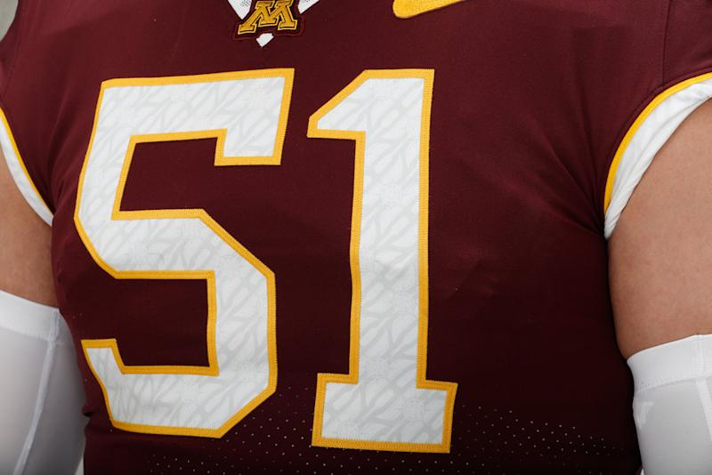 Gophers unveil new football jerseys for 2018