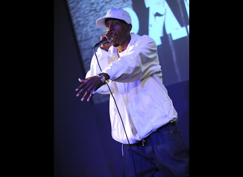 Not Pictured: Eric B. (Eric Barrier) NEW YORK - NOVEMBER 20: Rakim performs at the Apple Store in Soho on November 20, 2009 in New York City. (Photo by Jason Kempin/Getty Images)