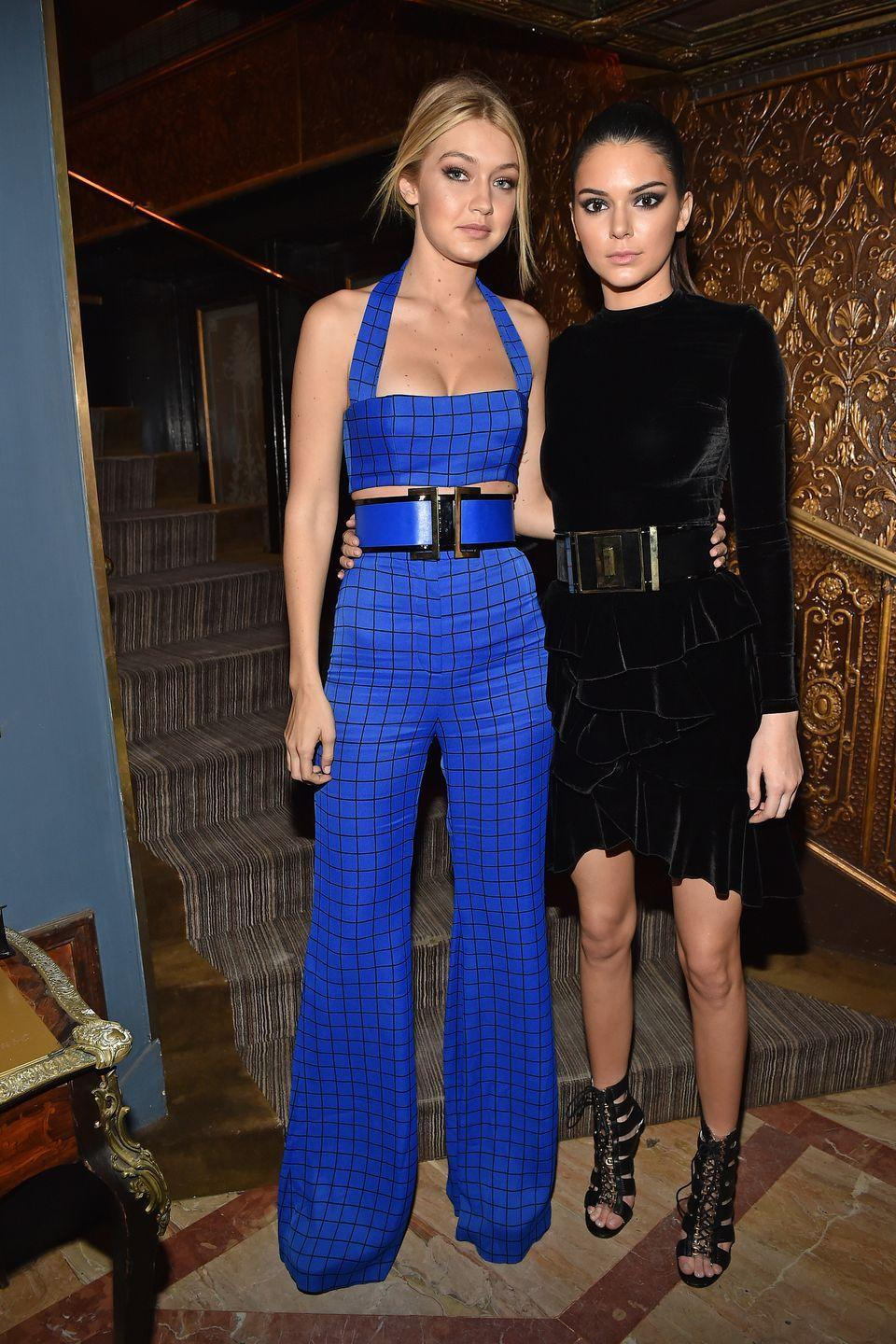 """<p>""""Gigi is the best girlfriend a KenGi could ask for."""" — Kendall Jenner, <a href=""""https://twitter.com/KendallJenner/status/692845239703199746?ref_src=twsrc%5Etfw&ref_url=http%3A%2F%2Fwww.seventeen.com%2Fcelebrity%2Fnews%2Fa37632%2Fkendall-jenner-calls-gigi-hadid-the-best-girlfriend-after-zayn-malik-says-shes-just-a-friend%2F"""" rel=""""nofollow noopener"""" target=""""_blank"""" data-ylk=""""slk:Twitter"""" class=""""link rapid-noclick-resp"""">Twitter</a> </p><p>""""She's just really helpful, but she's also the most low maintenance person and that's what I really respect about her. When you ask her a question or for advice, it's always going to be, 'Just let it happen, just let it go and, you know, be cool about it,' and that's always her thing."""" — Gigi Hadid, <em><a href=""""https://www.accessonline.com/articles/gigi-hadid-shares-best-friend-kendall-jenners-advice"""" rel=""""nofollow noopener"""" target=""""_blank"""" data-ylk=""""slk:Access Online"""" class=""""link rapid-noclick-resp"""">Access Online</a></em></p>"""