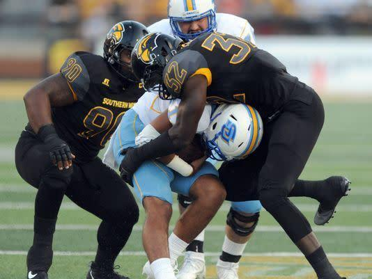 Defensive Line Rotation Proves Steady for Golden Eagles in 2017