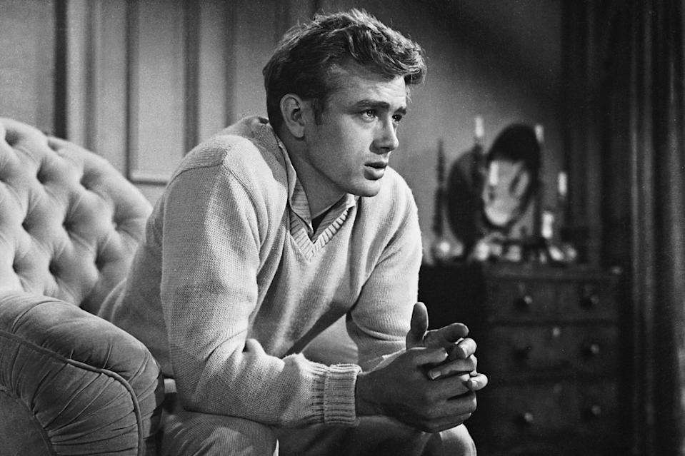 <p>Dean was only 24 when he died in an automobile crash in September 1955. He was given a special achievement award at the 1956 Golden Globes for his performance in <em>East of Eden</em>, and the honored at the Globes with the Henrietta Award for world film favorite in 1957. </p> <p>He also received Best Actor nods at the 1956 and 1957 Academy Awards for <em>East of Eden </em>and the posthumously released <em>Giant, </em>respectively. </p>