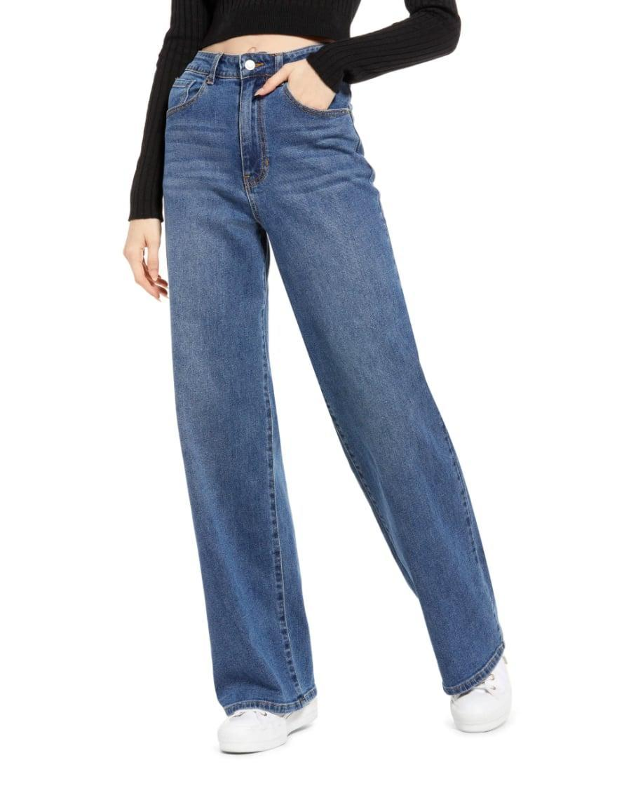 <p>Sorry, skinny jeans; everyone's low-key obsessed with wider silhouettes. Upgrade your denim collection with a set of these trendy <span>BP. Everyday Wide Leg Jeans</span> ($39).</p>
