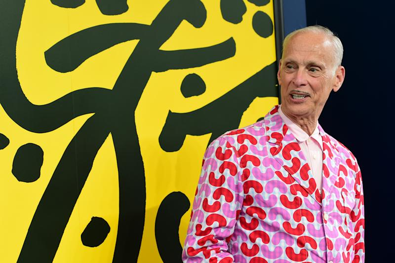 John Waters attends a convesation with the public during the 72nd Locarno Film Festival on August 17, 2019. (Photo by Pier Marco Tacca/Getty Images)