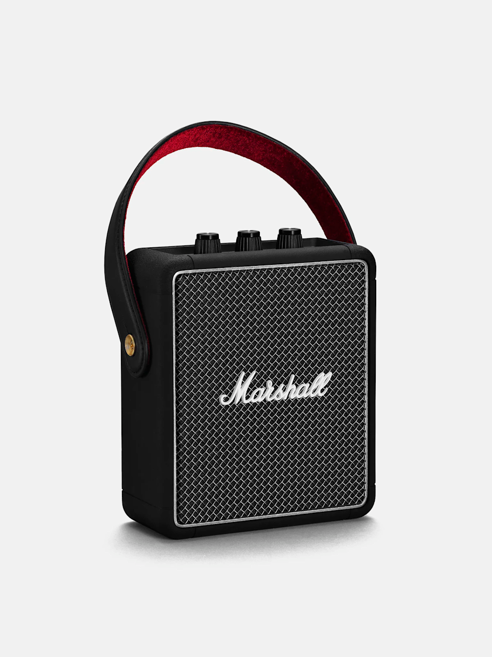 """<h3>Marshall Portable Bluetooth Speaker</h3><br><br>This sweet bluetooth speaker can play whatever your heart desires first thing in the morning, whether it's NPR or some quiet piano music. And, you can bring it around the house with you as you get ready.<br><br><strong>Marshall</strong> Portable Bluetooth Speaker, $, available at <a href=""""https://go.skimresources.com/?id=30283X879131&url=https%3A%2F%2Fwww.verishop.com%2Fmarshall%2Fspeakers%2Fstockwell-ii-bluetooth-portable-speaker%2Fp4163173449751"""" rel=""""nofollow noopener"""" target=""""_blank"""" data-ylk=""""slk:Verishop"""" class=""""link rapid-noclick-resp"""">Verishop</a>"""