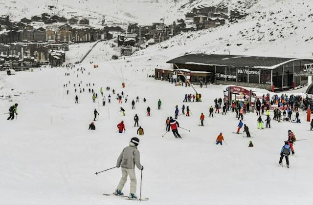 """The dispute took on a political dimension when the British ski instructor denounced """"a blatant display of national discrimination by the French government"""" (AFP Photo/PHILIPPE DESMAZES)"""