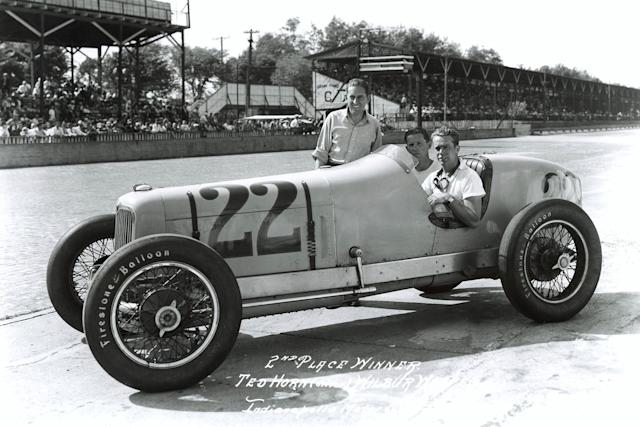 """Horn's Harry Hartz-run Wetteroth-Miller finished second in 1936, and led 16 laps. <span class=""""copyright"""">Indianapolis Motor Speedway</span>"""