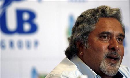 United Breweries Group Chairman Vijay Mallya speaks during a news conference in Mumbai September 1, 2007.