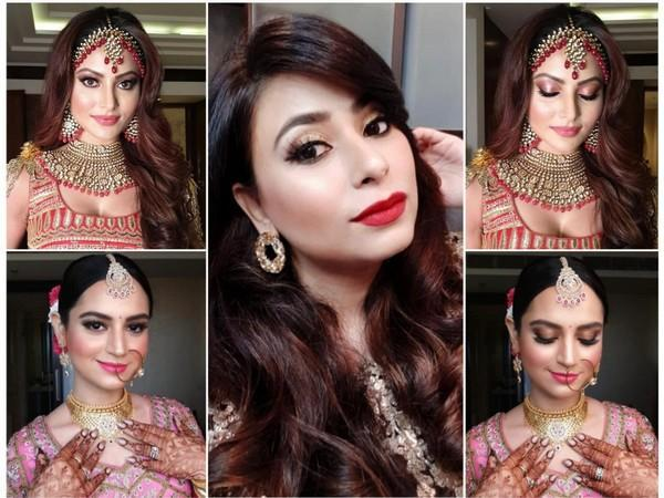 Dimplle S Bathija a bridal makeup artist from Mumbai creates flawless bridal looks