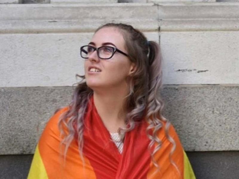 Undated family handout photo of Jodie Chesney, 17, at the Pride London 2018 event: PA