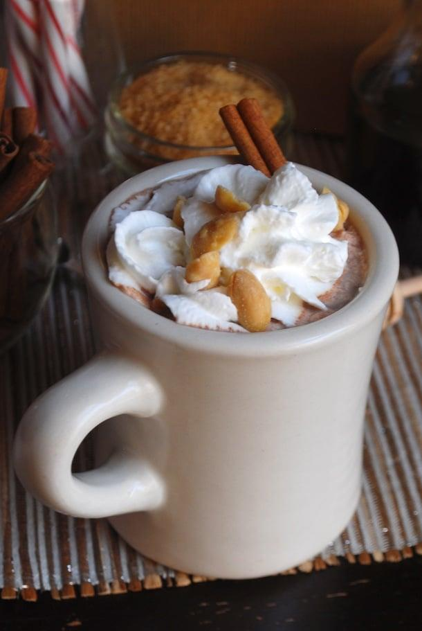 "<p>Hot chocolate, peanut butter, and vodka - can it get any better? We say probably not. </p> <p><strong>Get the recipe:</strong> <a rel=""nofollow"" href=""http://www.alwaysorderdessert.com/2013/12/fluffernutter-hot-chocolate-with.html"">fluffernutter hot chocolate with roasted peanuts</a></p>"