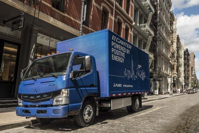 UPS to use Daimler electric eCanter trucks in the US