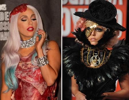 <p>LADY GAGA: ONE NIGHT IN FASHION<br>Gaga's awards show outfits are always hotly anticipated - we can't help wondering what crazy ensemble she comes up with at this year's VMAS! We take a look back at her memorable outfits of the past two VMA Awards....</p>