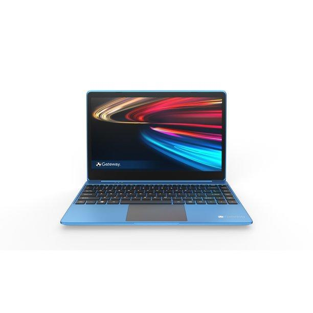 Did we say this laptop wasn't glamorous? Check out this electric blue! (Photo: Walmart.com)