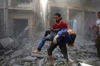 The Syrian conflict has killed more than 380,000 people and displaced more than half the pre-war population