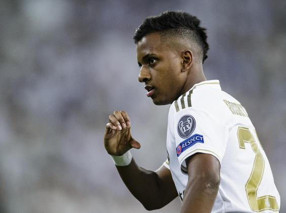 Rodrygo scored a stunning hat-trick (Getty)