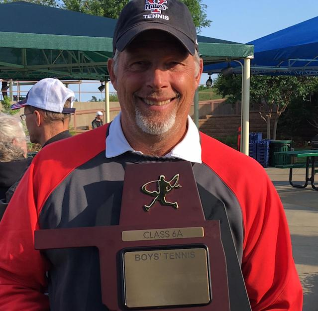 Yukon High School (Okla.) tennis coach and teacher Barney Moon says more support from the preps community could've put teachers in a better position. (Photo courtesy of Barney Moon)