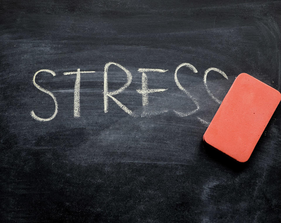 reduce stress to reduce belly fat