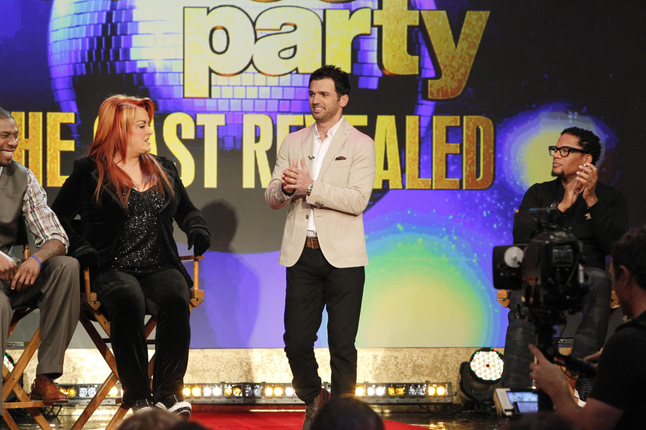 """Tony Dovolani Veteran pro Dovolani is the reigning pro champ, winning last season's """"All-Star"""" competition with partner Melissa Rycroft. He returns to dance for a 15th season with Wyonna Judd."""