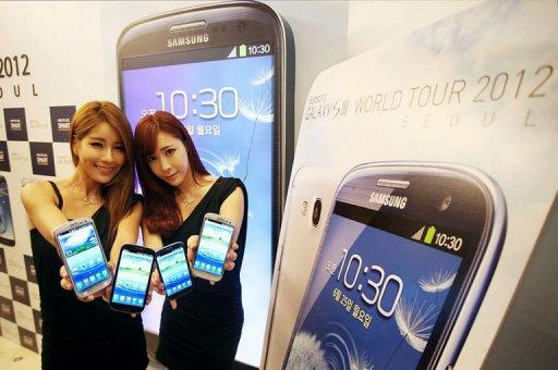 Samsung's latest smartphone model, Galaxy S3, is currently available in 147 countries