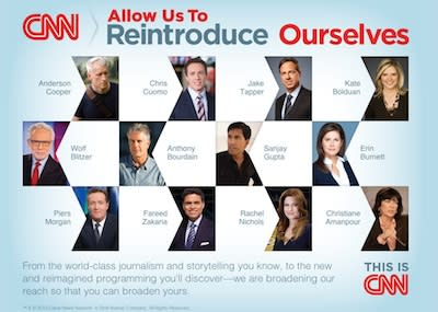 """CNN Takes Out NYT """"Reintroduce Ourselves"""" Ad; Look Who's Left Out"""