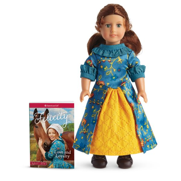 <p>From Williamsburg, Virginia, set in the midst of the American Revolution, Felicity is a free spirit and revolts against the customs that society has put upon women of her era. She also stands up to bullies. Shailene Woodley played her in the movie <em>Felicity: An American Girl Adventure.</em><br></p>