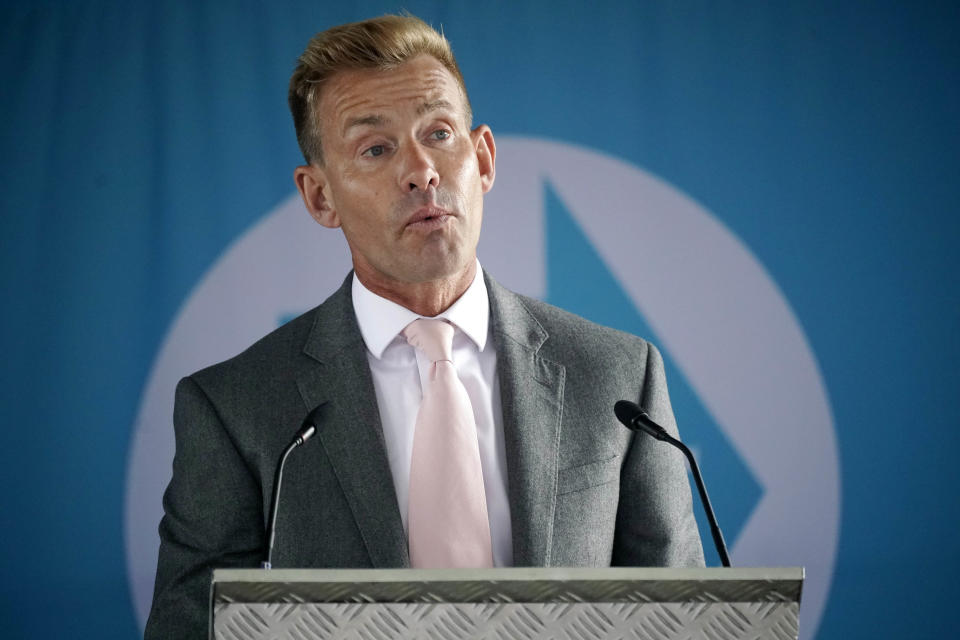 Brexit Party MEP David Bull won a seat in the North West in the recent European elections (Picture: Getty)