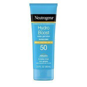 """<p><strong>Neutrogena</strong></p><p>cvs.com</p><p><strong>$13.99</strong></p><p><a href=""""https://go.redirectingat.com?id=74968X1596630&url=https%3A%2F%2Fwww.cvs.com%2Fshop%2Fneutrogena-hydro-boost-gel-moisturizing-sunscreen-lotion-spf-50-3-oz-prodid-1750019&sref=https%3A%2F%2Fwww.oprahdaily.com%2Fbeauty%2Fskin-makeup%2Fg36545377%2Fbest-body-lotion-with-spf%2F"""" rel=""""nofollow noopener"""" target=""""_blank"""" data-ylk=""""slk:Shop Now"""" class=""""link rapid-noclick-resp"""">Shop Now</a></p><p>Marchbein approved, the lightweight water-gel texture is what you'll notice first about Neutrogena's Hydro Boost formula. But once you slather it on, you'll no doubt be impressed at how quickly it absorbs and how sumptuous it feels, especially for the price. Glycerin and hyaluronic acid provide 8-hour hydration while chemical filters offer UV protection with no white cast. </p>"""