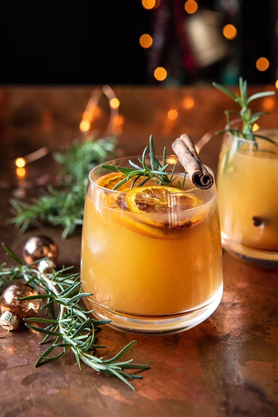 """<p>New Mexico is also on the old fashioned train, and we don't blame 'em! During this time, there's nothing more soothing than sipping on a rich bourbon libation. This interesting twist incorporates maple syrup, fresh rosemary, and cinnamon sticks, so you know it's about to be good.</p> <p><strong>Get the recipe</strong>: <a href=""""https://www.popsugar.com/buy?url=https%3A%2F%2Fwww.halfbakedharvest.com%2Fcinnamon-bourbon-old-fashioned%2F&p_name=cinnamon%20bourbon%20old%20fashioned&retailer=halfbakedharvest.com&evar1=yum%3Aus&evar9=47471653&evar98=https%3A%2F%2Fwww.popsugar.com%2Ffood%2Fphoto-gallery%2F47471653%2Fimage%2F47474659%2FNew-Mexico-Old-Fashioned&list1=cocktails%2Cdrinks%2Calcohol%2Crecipes&prop13=api&pdata=1"""" class=""""link rapid-noclick-resp"""" rel=""""nofollow noopener"""" target=""""_blank"""" data-ylk=""""slk:cinnamon bourbon old fashioned"""">cinnamon bourbon old fashioned</a></p>"""