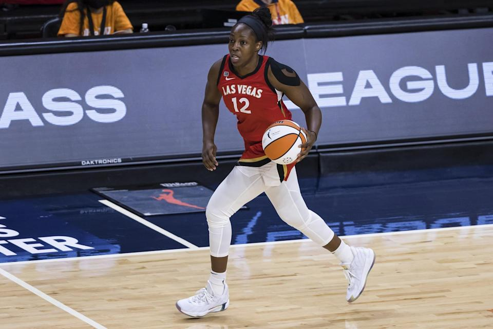 """<p>Gray, who won the WNBA Championships in 2016 with the Los Angeles Sparks, will be heading to her first-ever Olympic Games. She also <a href=""""http://www.wnba.com/player/chelsea-gray/"""" class=""""link rapid-noclick-resp"""" rel=""""nofollow noopener"""" target=""""_blank"""" data-ylk=""""slk:plays professionally overseas"""">plays professionally overseas</a>. <a href=""""http://www.usab.com/basketball/players/womens/g/gray-chelsea.aspx"""" class=""""link rapid-noclick-resp"""" rel=""""nofollow noopener"""" target=""""_blank"""" data-ylk=""""slk:Check out her USA Basketball profile here"""">Check out her USA Basketball profile here</a>.</p> <p><strong>Age:</strong> 28</p> <p><strong>Current WNBA Team:</strong> Las Vegas Aces</p> <p><strong>Position:</strong> Guard</p> <p><strong>Instagram:</strong> <a href=""""https://www.instagram.com/cgray209/"""" class=""""link rapid-noclick-resp"""" rel=""""nofollow noopener"""" target=""""_blank"""" data-ylk=""""slk:@cgray209"""">@cgray209</a></p>"""
