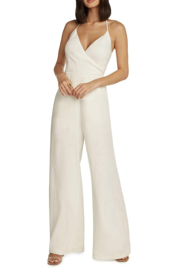 <p>Wait till you see the back of this <span>Willow Saint Tropez Halter Neck Jumpsuit</span> ($168). So elegant and eye-catching!</p>