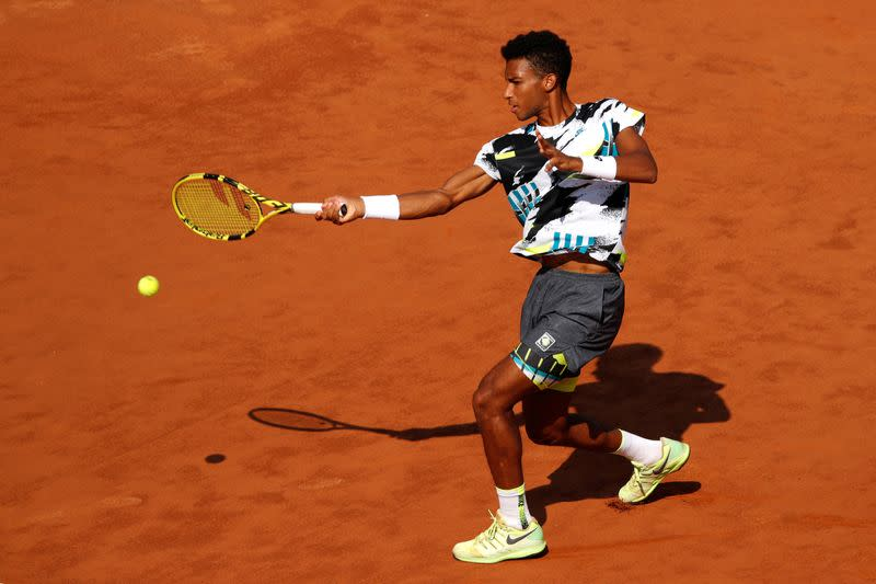 Auger-Aliassime and Khachanov make early exits in Rome