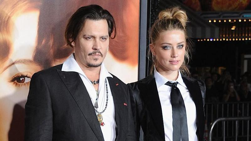 Johnny Depp and Amber Heard. Photo: Getty Images.