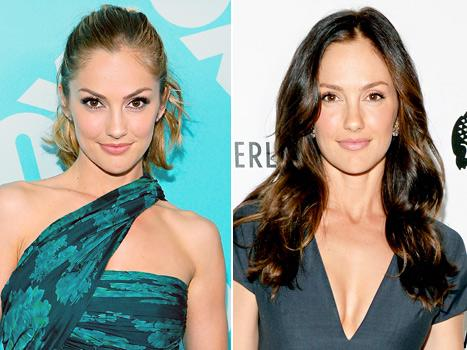 Minka Kelly Back to Brunette One Month After Going Blonde