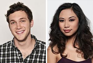 Phil Phillips, Jessica Sanchez | Photo Credits: Michael Becker / FOX