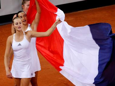 Fed Cup 2019: Former foes Caroline Garcia and Kristina Mladenovic unite to lead France into final against Australia